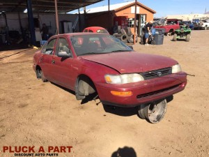 Stock #505: 97' Toyota Corolla Parting Out